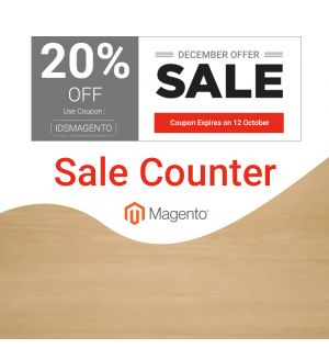 Magento 2 Sale Counter